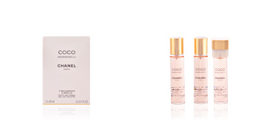 Chanel COCO MADEMOISELLE eau de toilette spray 3 x 20 ml refill