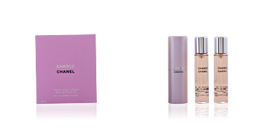 Chanel CHANCE eau de toilette spray twist & spray 3 x 20 ml