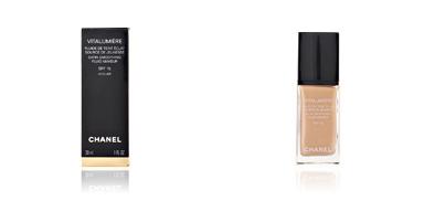 Chanel VITALUMIÈRE fluide de teint éclat SPF15#20-clair cameo 30 ml