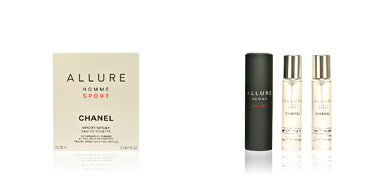 Chanel ALLURE HOMME SPORT eau de toilette spray refillable 3 x 20 ml