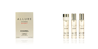 Chanel ALLURE HOMME SPORT eau de toilette spray refills 3 x 20 ml