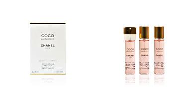 Chanel COCO MADEMOISELLE eau de perfume spray 3 x 20 ml refill