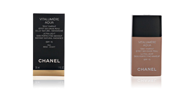 Chanel VITALUMIÈRE AQUA teint parfait #40-beige désert 30 ml