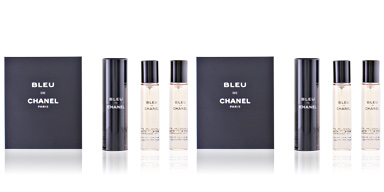 Chanel BLEU eau de toilette spray refillable 3 x 20 ml