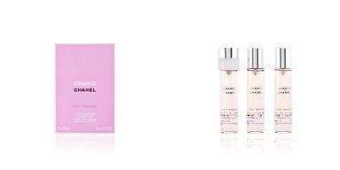 Chanel CHANCE EAU TENDRE eau de toilette spray twist & spray 3 refills x 20 ml