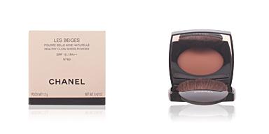 Chanel LES BEIGES poudre belle mine naturelle  #60 12 gr