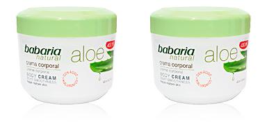 Babaria ALOE VERA 20% crema corporal reparadora 400 ml