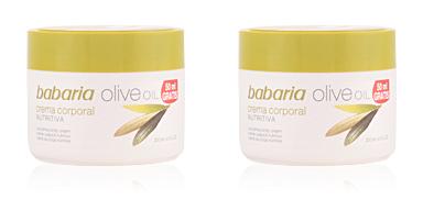 Babaria ACEITE DE OLIVA crema nutritiva corporal 250 ml