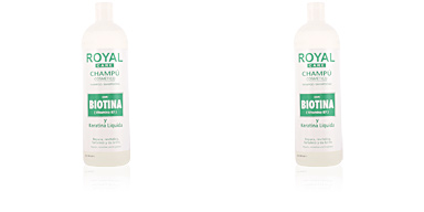 ROYAL CARE champú cosmético biotina & keratina Anian