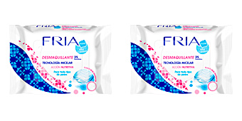 Fria FRIA toallitas desmaquillantes micelar skin massage 25 uds