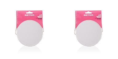 Beter ESPEJO metálico doble x3 con soporte abatible 12,2 cm 1 pz