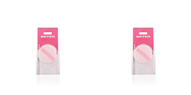 Beter ESPONJA aplicadora cosmética doble polvos 1 pz