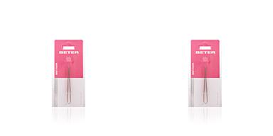 Beter PINZAS depilar punta de cangrejo cobreada 8,3 cm