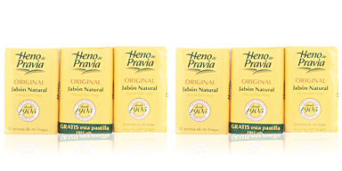 Heno De Pravia ORIGINAL soap NATURAL SET 3 x 115 gr