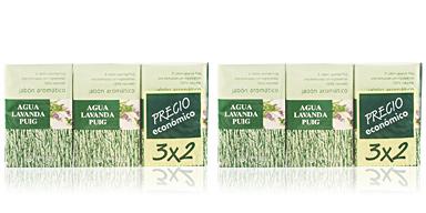 Agua Lavanda AGUA LAVANDA PUIG soap SET 3 pz
