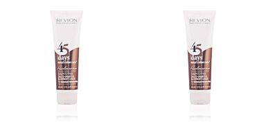 45 DAYS 2in1 shampoo&conditioner seducing brunettes Revlon