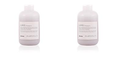 ESSENTIAL love smoothing shampoo Davines