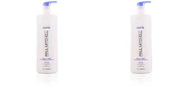CURL spring loaded frizz-fighting shampoo Paul Mitchell