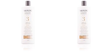 SYSTEM 3 shampoo volumizing weak fine hair Nioxin