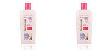 Babaria ALOE VERA jabón líquido corporal pieles atópicas 400 ml