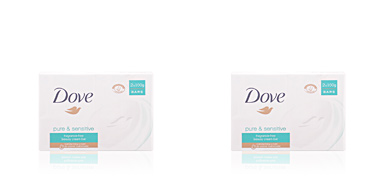 Dove soap CREMA SENSITIVE HYPOALLERGENIC SET 2 x 100 gr