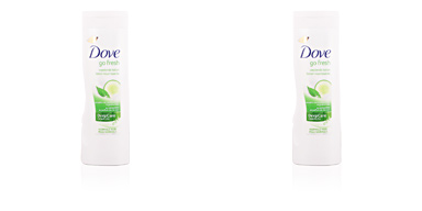 Dove GO FRESH pepino & té green loción corporal 400 ml