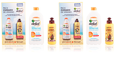 Delial SENSITIVE ADVANCED LECHE SPF50+ SET 2 pz