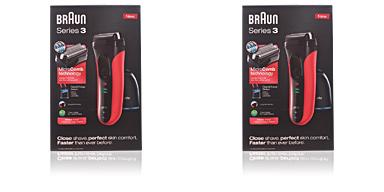 Braun SERIES 3-3050cc shaver #red