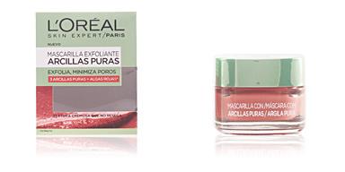 L'Oréal ARCILLAS PURAS exfolia y minimiza poros algas rojas 50 ml
