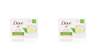Dove soap CREMA GO FRESH PEPINO & TE green SET 2 x 100 gr