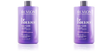 Revlon BE FABULOUS daily care fine hair cream conditioner  750 ml