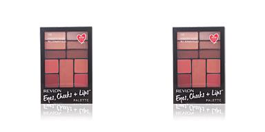 Revlon Make Up PALETTE eyes, cheeks + lips #100-romantic nudes