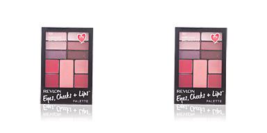 Revlon Make Up PALETTE eyes, cheeks + lips #300-berry in love