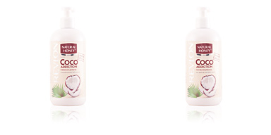 Natural Honey COCO ADDICTION loción corporal dispenser 400 ml