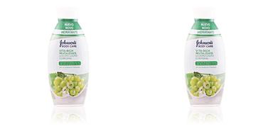 Johnson's VITA-RICH REVITALIZANTE UVAS loción corporal 400 ml