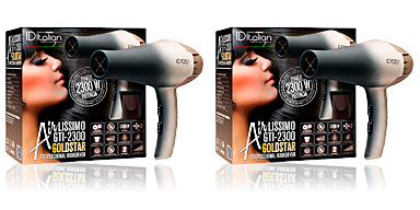 Id Italian AIRLISSIMO GTI 2300 hairdryer gold star