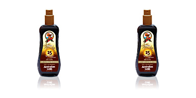 Australian Gold SUNSCREEN SPF15 spray gel with instant bronzer 237 ml