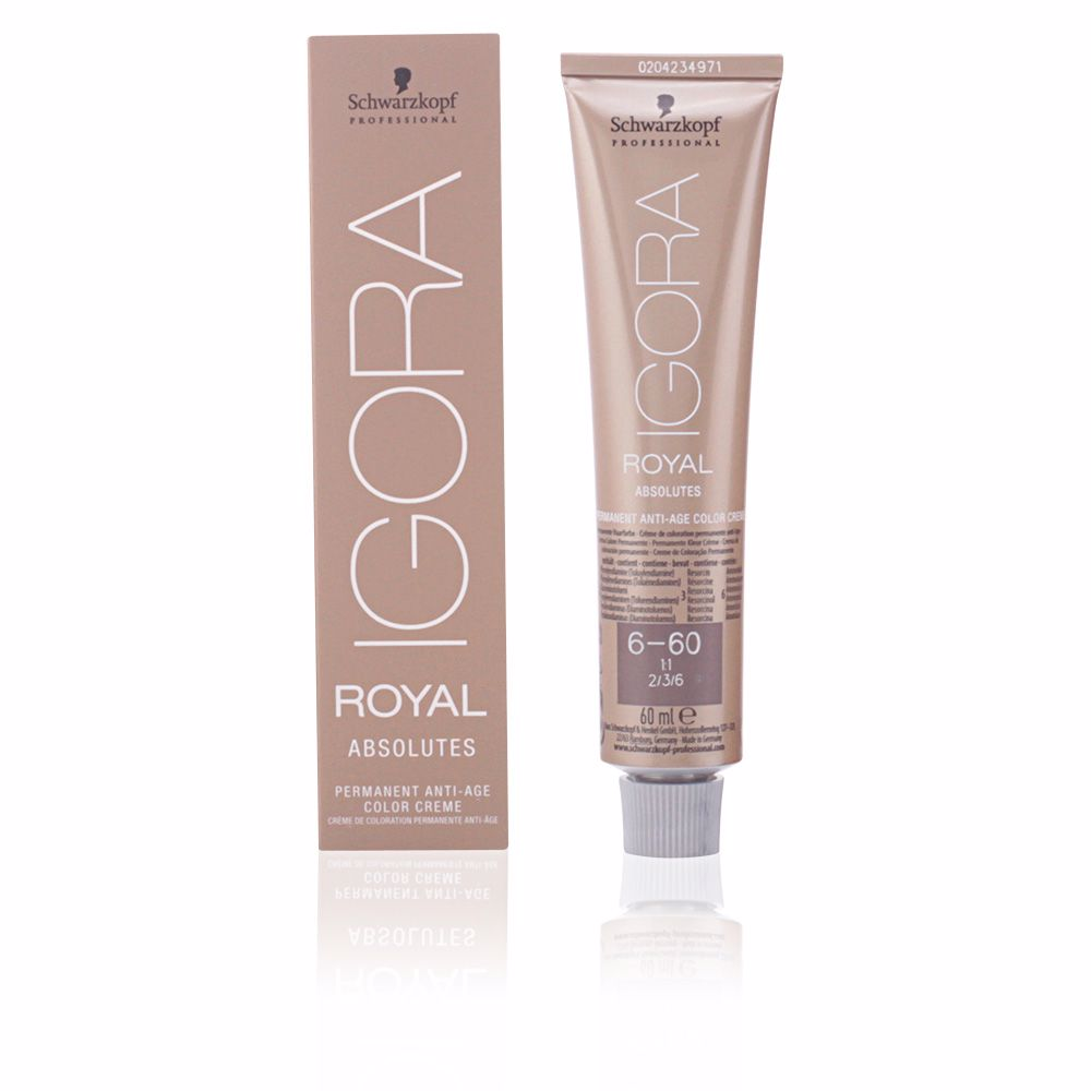 IGORA ROYAL ABSOLUTES anti-age color creme 6-60