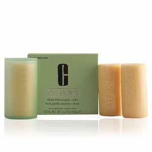 Clinique 3 LITTLE SOAPS mild with dish 150 gr