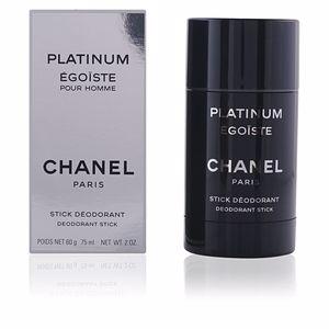 Chanel ÉGOÏSTE PLATINUM deodorant stick 75 ml