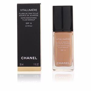 Chanel VITALUMIÈRE fluide de teint éclat SPF15  #25-pétale