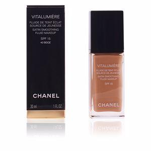 Chanel VITALUMIÈRE fluide de teint éclat #40-beige