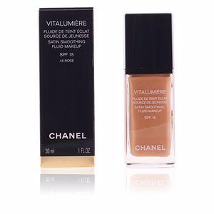 Chanel VITALUMIÈRE fluide de teint éclat #45-rose