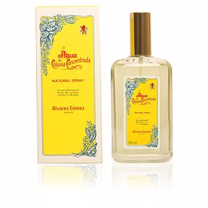 Alvarez Gomez AGUA DE cologne concentrated eau de cologne spray refillable 150 ml