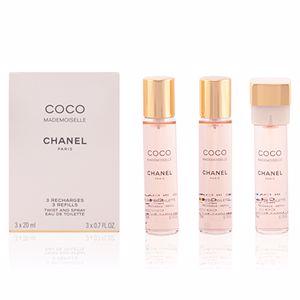 Chanel COCO MADEMOISELLE eau de toilette twist & spray 3 refills 3 x 20 ml