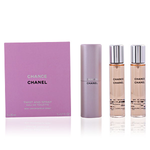 Chanel CHANCE eau de toilette spray twist & spray 3 x 20 ml