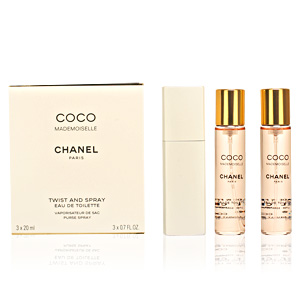 Chanel COCO MADEMOISELLE eau de toilette purse spray twist & spray 3 x 20 ml