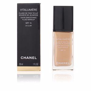 Chanel VITALUMIÈRE fluide de teint éclat SPF15 #20-clair cameo