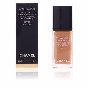Chanel VITALUMIÈRE fluide de teint éclat #50-naturel