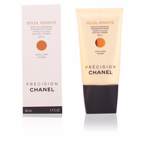 Chanel SOLEIL IDENTITÉ soin auto-bronzant visage SPF8-doré 50 ml